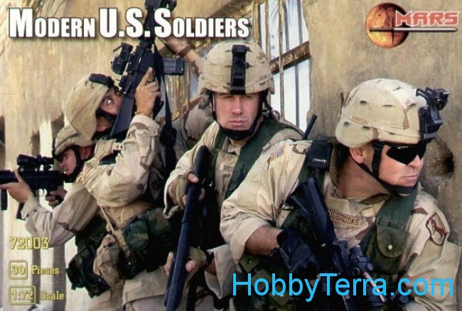 US Modern soldiers
