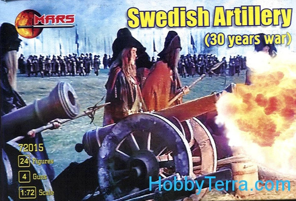 Mars Figures  72015 Swedish artillery (30 years war)
