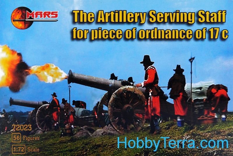 Artillery Serving Staff for piece of ordnance of 17