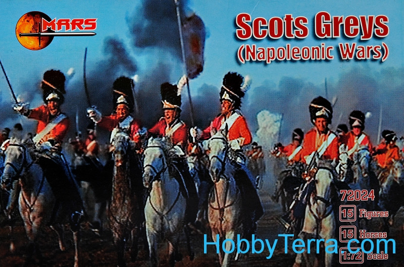 Mars Figures  72024 Scott Greys, Napoleonic Wars