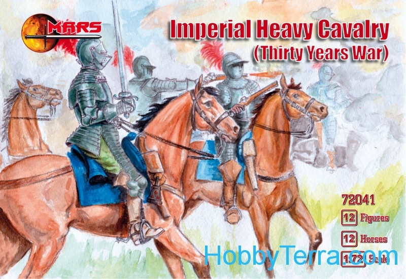 Mars Figures  72041 Imperial Heavy Cavalry, Thirty Years War