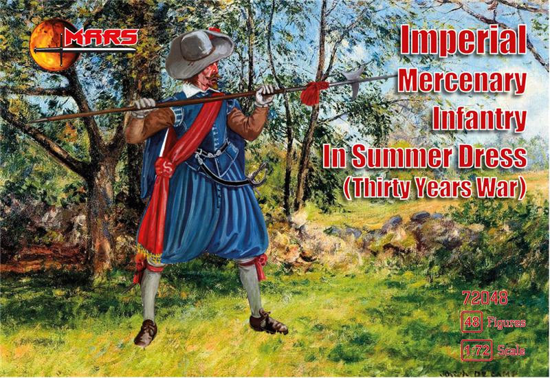Imperial Mercenary infantry in summer dress, Thirty Years War