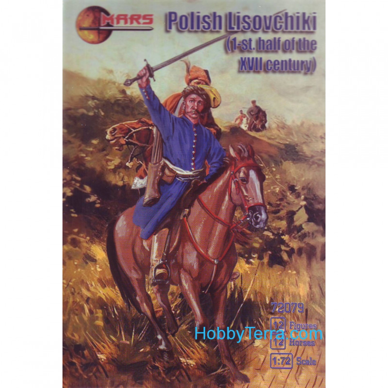 "Mars Figures  72079 Polish ""lisovchiki"" first half of the 17th century"