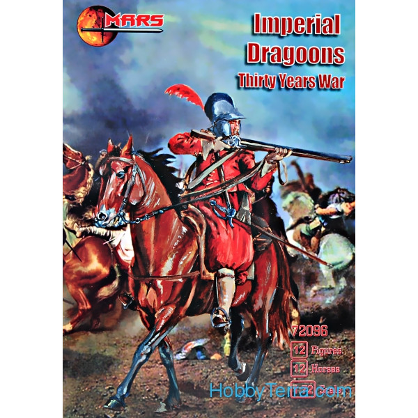 Imperial dragoons, Thirty Years War
