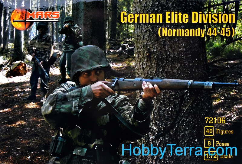 Mars Figures  72106 German elite division, Normandy 1944-45