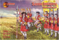 Saxon infantry, Northern War