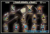 French infantry & guard