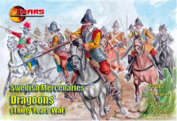 Swedish Mercenaries Dragoons, Thirty Years War