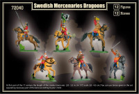 Mars Figures  72040 Swedish Mercenaries Dragoons, Thirty Years War