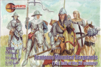 Teutonic mounted sergeants, 1st half of the XV century