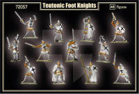 Teutonic Foot Knight I half of the XV century
