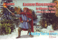 Eastern mercenaries in winter dress, Thirty Years War