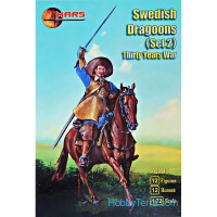 Swedish dragoons, set 2, Thirty Years War