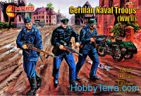 WWII German naval troops
