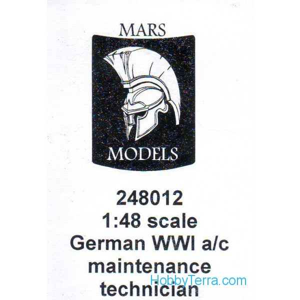 German technician, type 2, metal