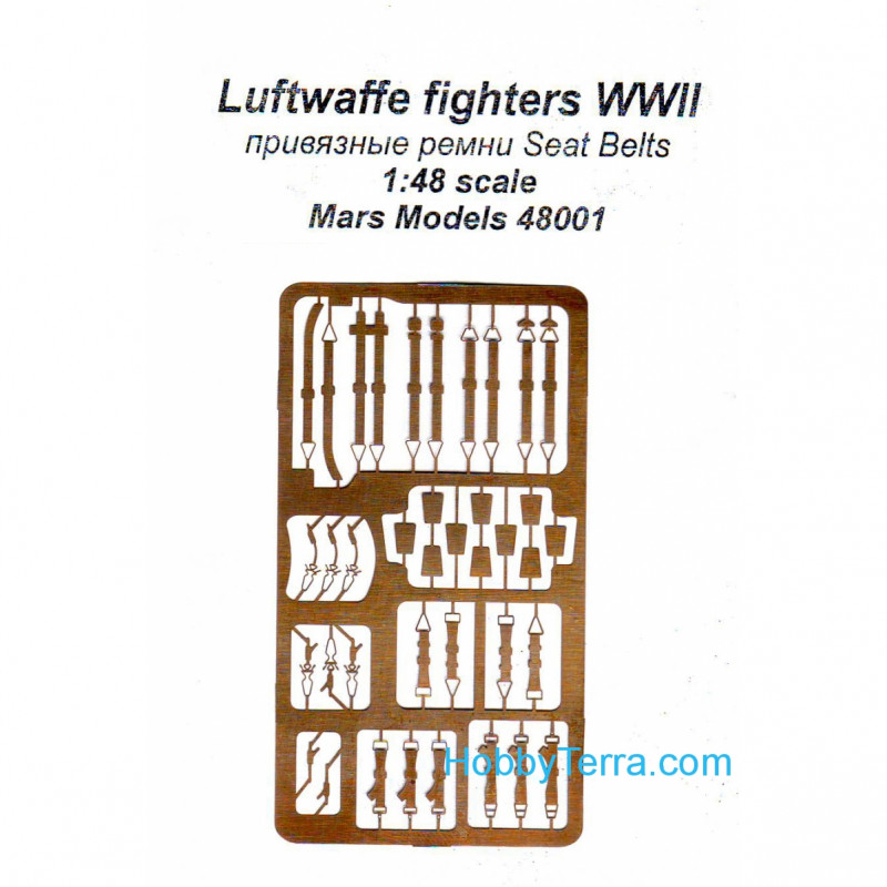 Luftwaffe fighters. Tie-down straps, universal