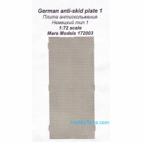 German anti-slip plate 1
