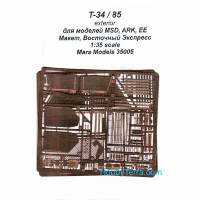 T-34/85 exterior, for Maquette/ARK/Eastern Express