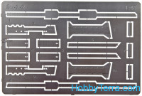 Photo-etched set 1/48 Su-2 wing bands