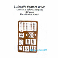 Seat belts, WWII Luftwaffe fighters, universal