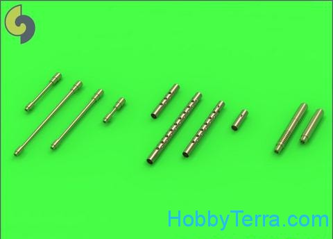 German aircraft machine gun MG 131 (13mm) barrels, 2pcs