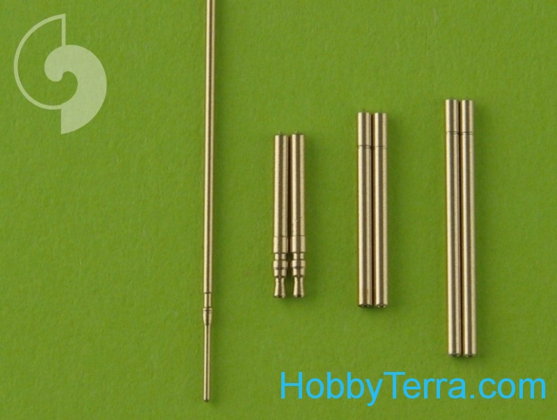 Fw 190 A6 armament set (MG 17, MG 151 barrel tips) & Pitot Tube