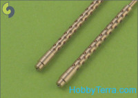 Japanese Type 97 7,7mm machine gun barrels, 2pcs