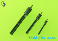 Mi-24 (Hind D/E) - JakB-12.7 machine gun barrel and DUAS probe (metal and resin parts)