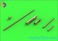 MiG-15 & MiG-15bis - gun barrels set, antenna base & Pitot Tube