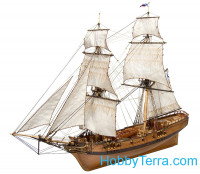"Brigantine ""Phoenix"", 1787, wooden kit (plus boat)"