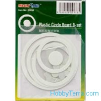 Plastic circle board B-set