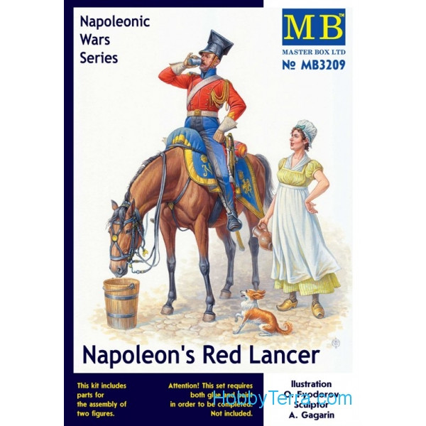 Master Box  3209 Napoleon's Red Lancer, Napoleonic Wars Series