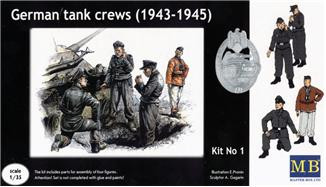 German tank crews, 1943-1945. kit #1