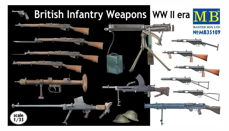 British infantry weapons, WWII era