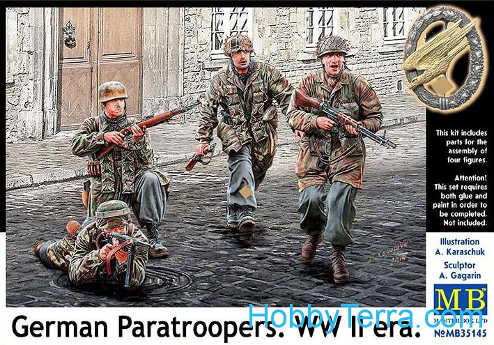 German Paratroopers. WWII era