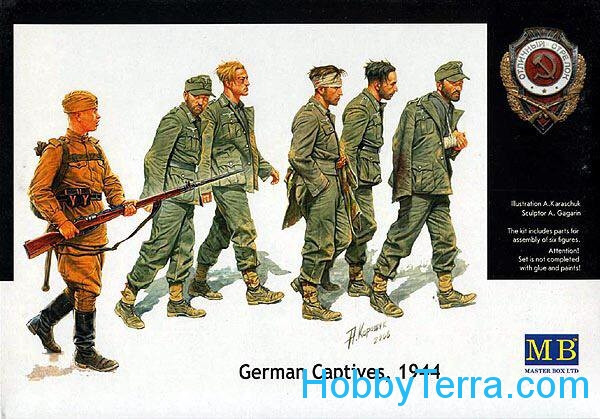 Master Box  3517 German captives, 1944