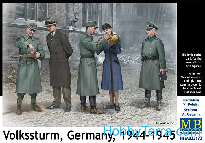 Master Box  35172 Volkssturm, Germany, 1944-1945
