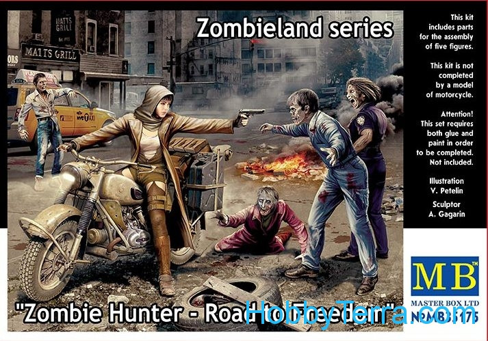 Zombie Hunter - Road to Freedom. Zombieland series