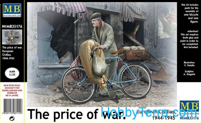 """The price of war."" European civilian, 1944-1945"