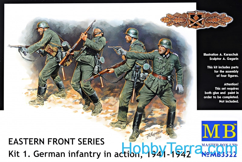 Master Box  3522 Frontier fight of summer 1941, German Infantry