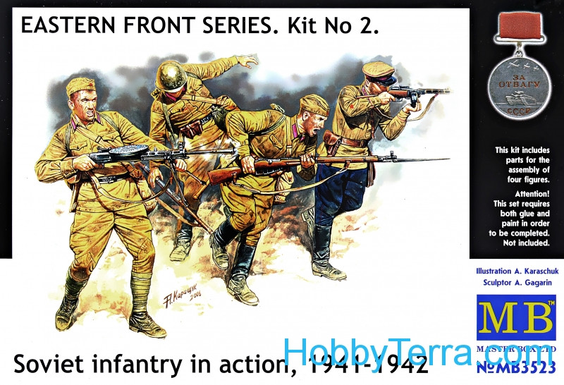 Frontier fight of summer 1941, Russian Infantry
