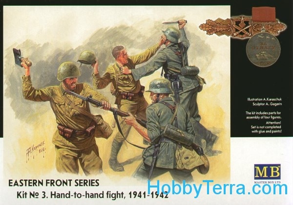 Frontier fight of summer 1941, hand to hand combat