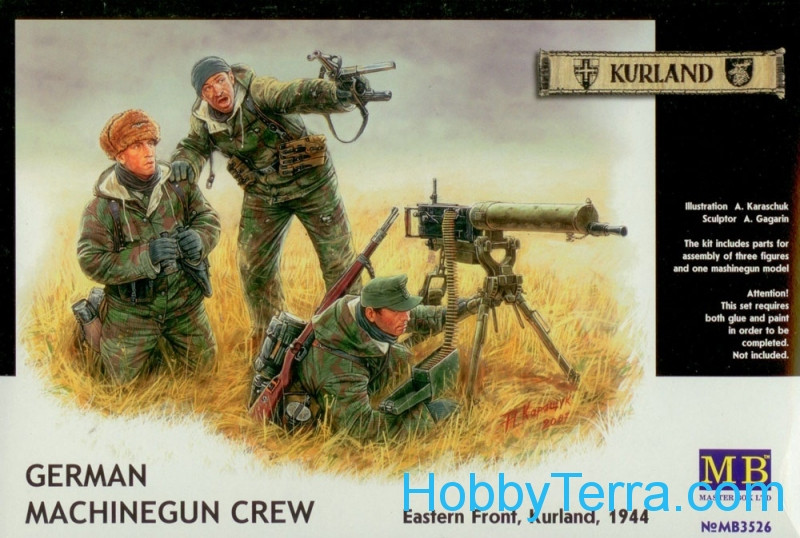 Master Box  3526 German machinegun crew, Eastern Front 1944