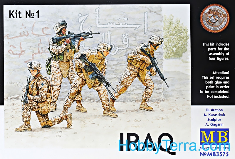 Master Box  MB3575 IRAQ kit 1