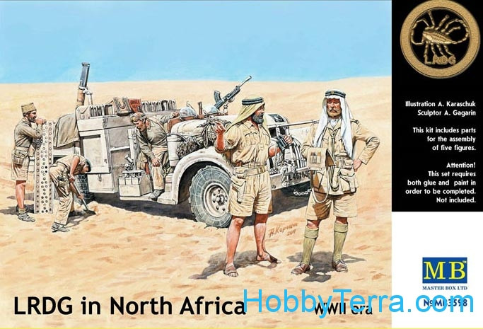 LRDG in Northen Africa