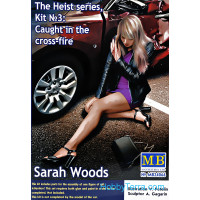 """The Heist series, Kit #3: Caught in the cross-fire. Sarah Woods"""