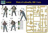 Master Box  3202 Pilots of Luftwaffe, WW II era. Kit 1