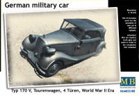 German military car Typ 170V Tourenwagen, 1937-1940