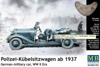 Polizei-Kubelsitzwagen ab 1937. German military car