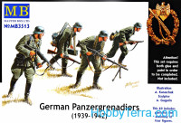 German Panzergrenadiers, 1939-1942